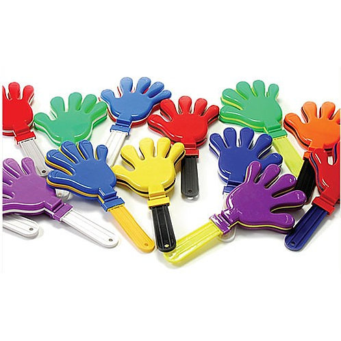 Hand Clapper Giant Red White & Blue
