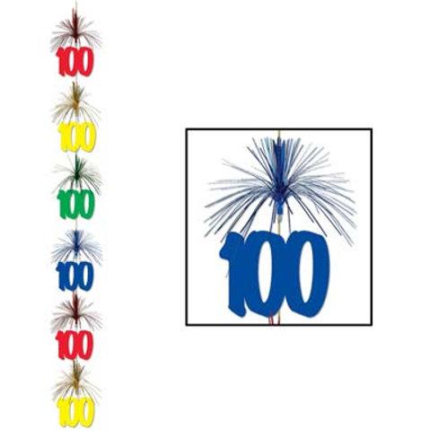 100th Birthday Firework Stringer