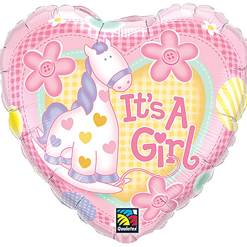 "Balloon Foil 18"" It's A Girl"