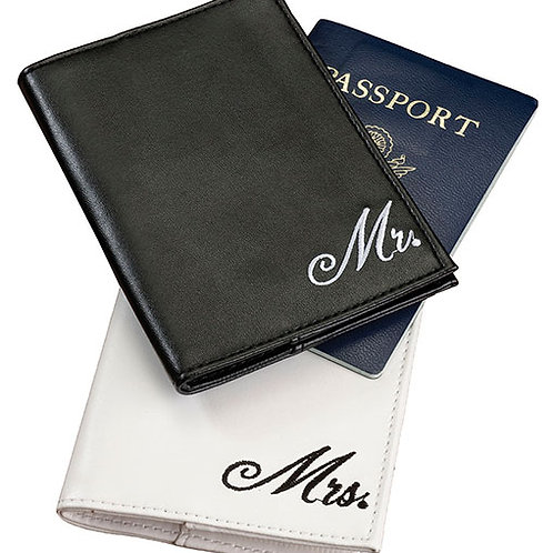 Wedding Mr & Mrs. Passport Cover