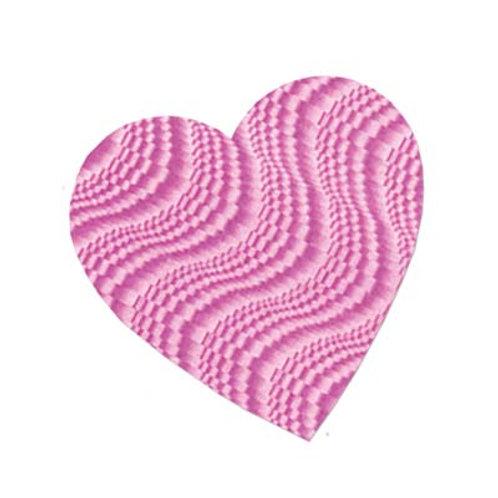 "Pink Valentine Cutout Heart 9"""