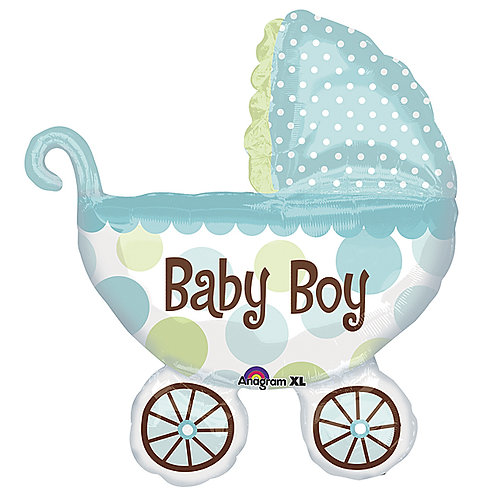 "Balloon Foil 3"" Baby Boy"