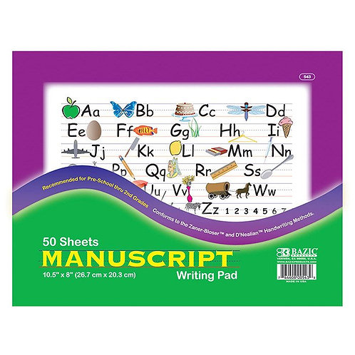 Pad Writing Manuscript 50 Sheets