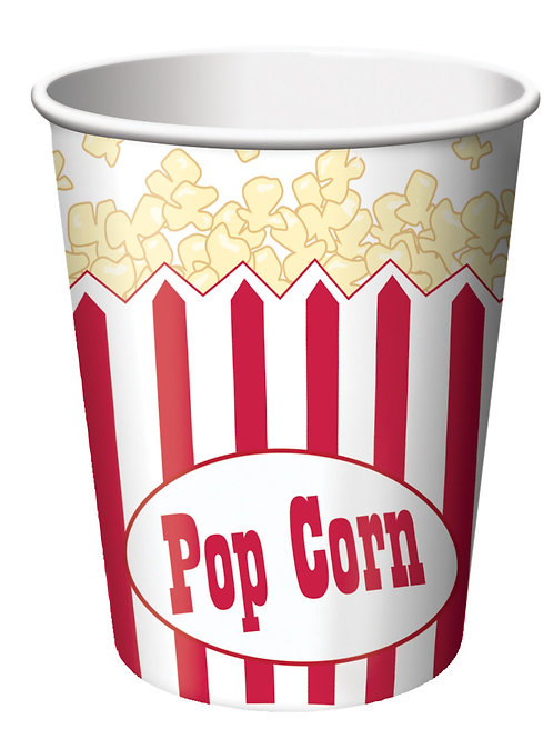 Reel Hollywood Hot/Cold Cup 9Oz (8Ct)