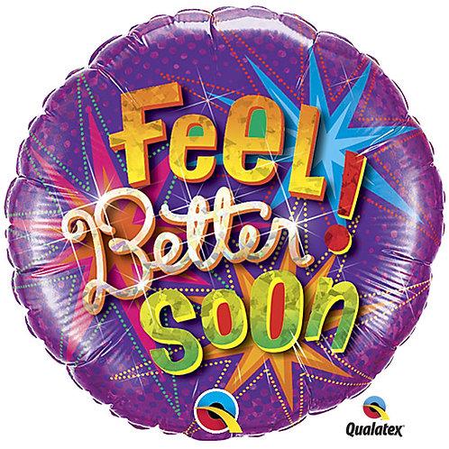 "Balloon 18"" Feel Better Soon"