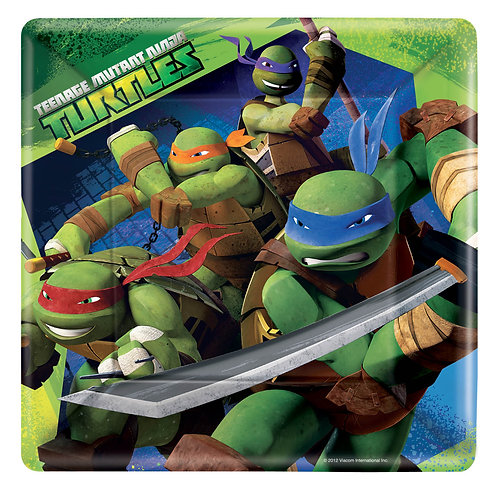 "Teenage Mutant Ninja Turtle 10"" Plate (8Ct)"