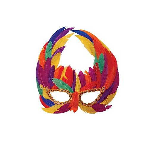 Mask Feather Rainbow