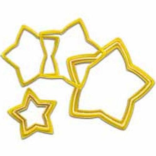 Nesting Star Cutter 6St