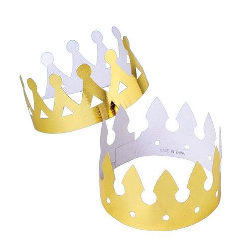 Foil Crowns 12Pcs