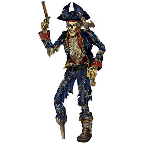 Pirate Skeleton Jointed 6'