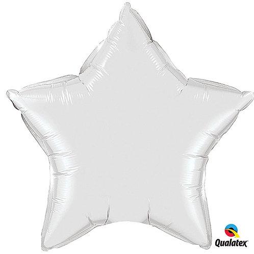 "Balloon Foil 20""Star White"