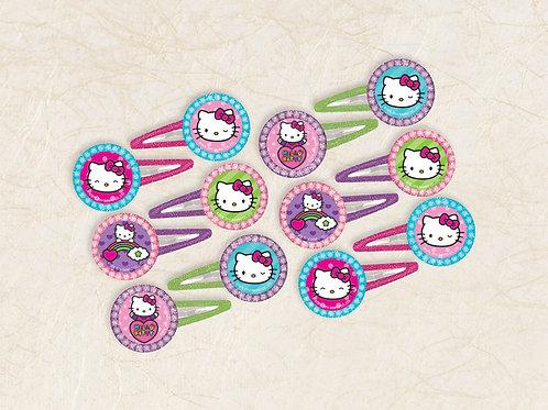 Hello Kitty Rainbow Hair Clip (12Ct)