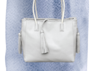 Grey Temple Bag