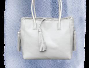 Grey Temple Bag
