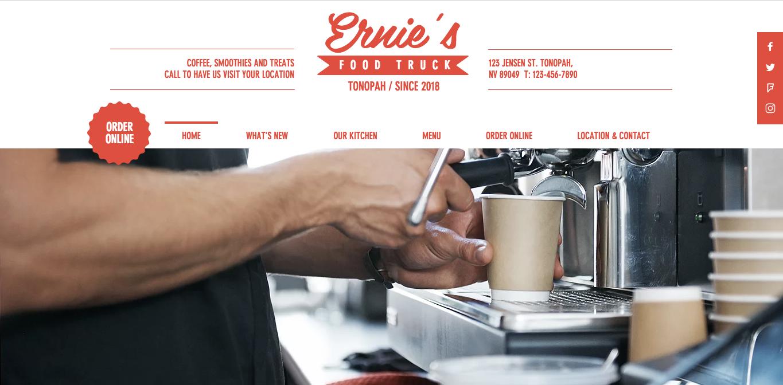 Ernie's Food Truck