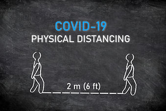 COVID-19 PHYSICAL DISTANCING instruction