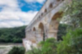 Le lien entre Ucetia et nemausus : le pont du Gard