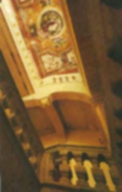 Escalier d'un Hôtel particulier à uzès