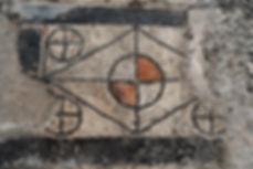 Mosaïque Templum découverte à Ucetia