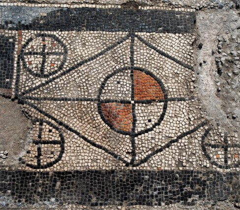 Mosaic of Templum in Ucetia