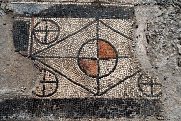Mosaic of Templum in Ucetia