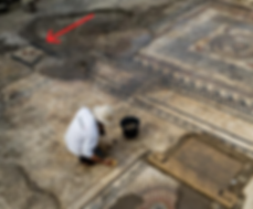 Emplacement du Templum à Uzès