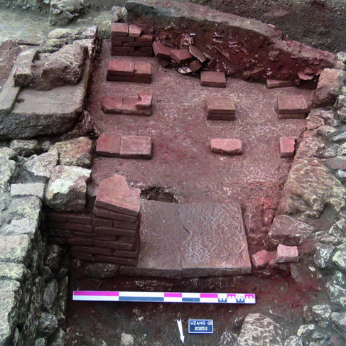 Hypocaust discovered in Ucetia