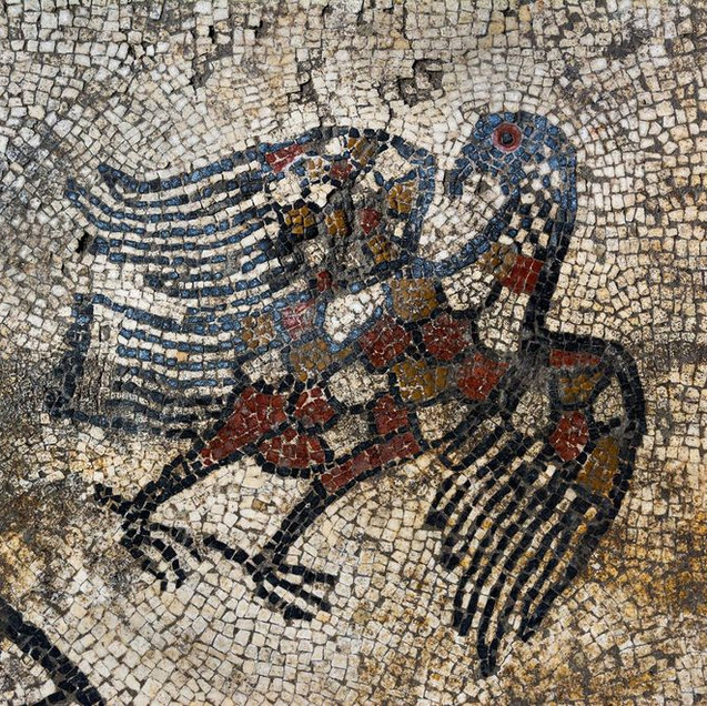 Ucetia Mosaic of an Eagle