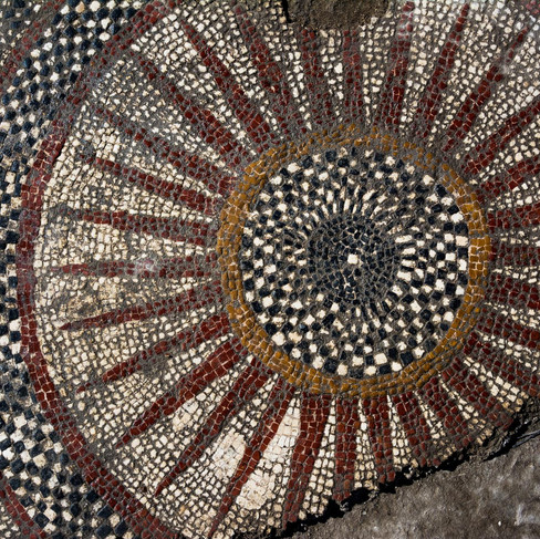 wonderfull roman mosaic in Ucetia
