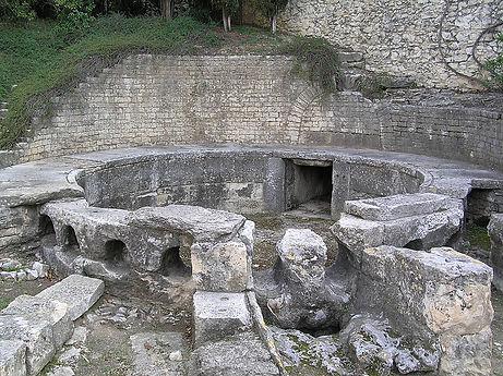 Castellum divisorium de Nemausus à Nîmes