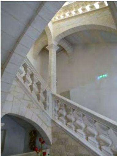 Escalier Grand siècle, Hôtel particulier à Uzès