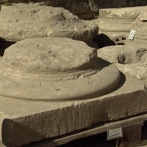 Ucetia doric columns