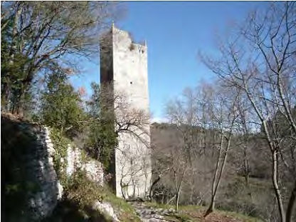 Tour de garde à Uzès, Vallée d'Eure