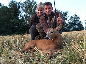 Séjour chasse en couple, au chevreuil