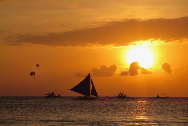 Sunset at Boracay