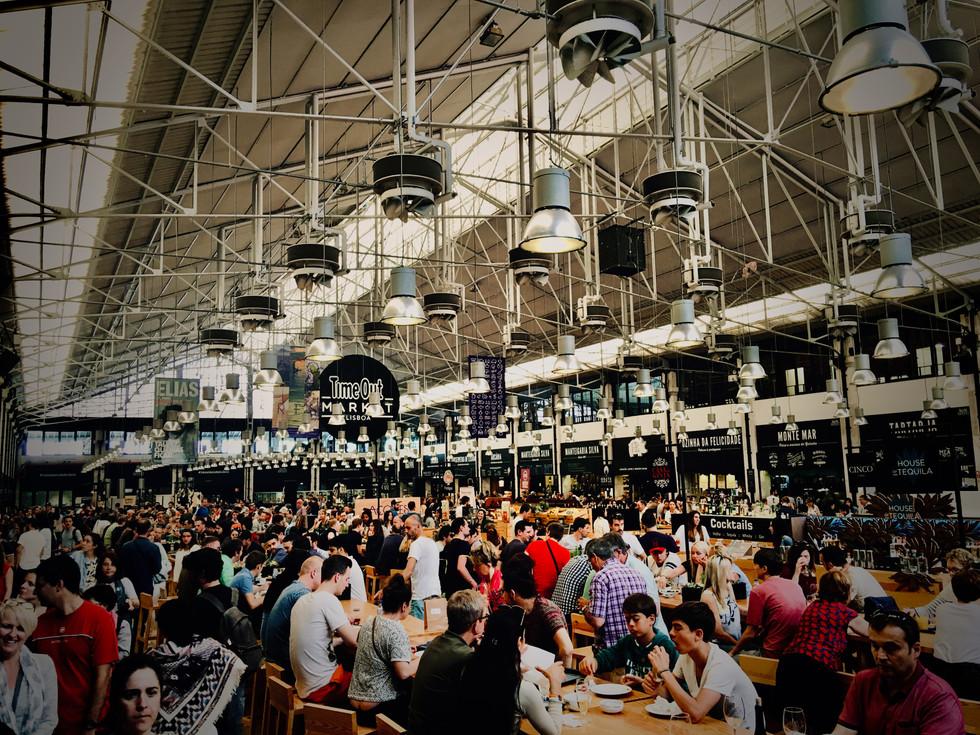 Mercado in Lisbon