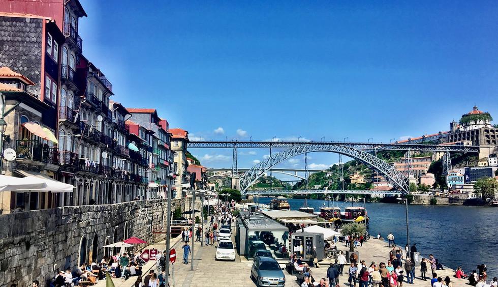 The Riberia, Porto