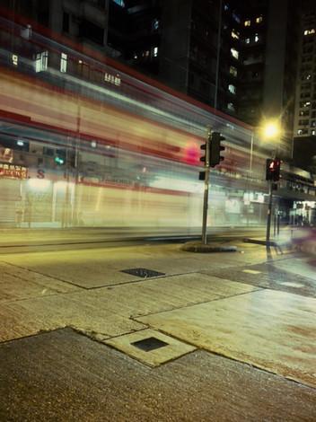 Hong Kong by nightfall