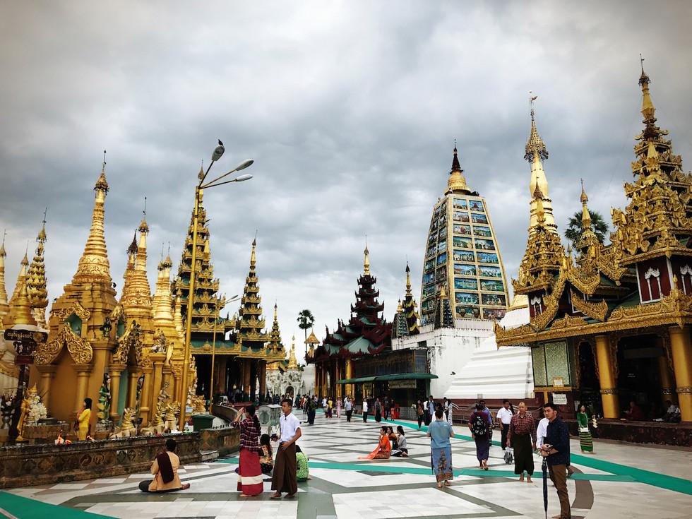 Shwe Dagon, Yangon