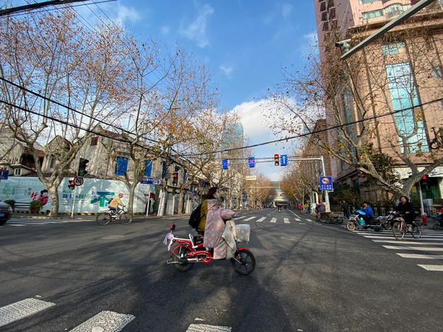 Winter in Shanghai