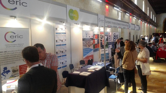 EARIV common booth from the 2017 EuroNanoForum in Malta