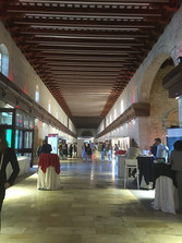 Exhibition hall from the 2017 EuroNanoForum in Malta