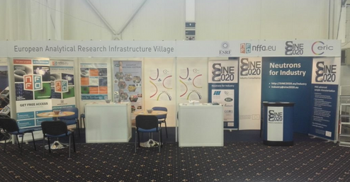 EARIV common booth at the 2016 ReInEu in Bratislava