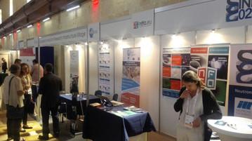 EARIV common booth from the 2017 EuroNanoForum in Malta