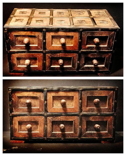 Indian trinket box | Solid wood