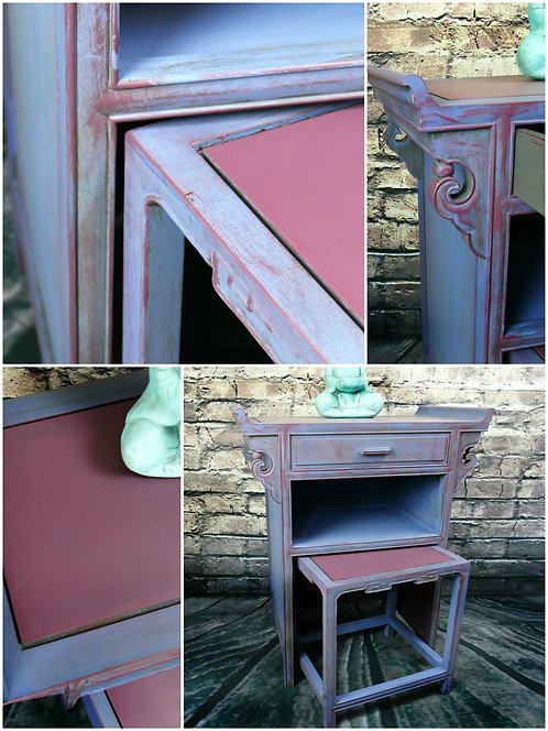Altar end Vanity table with bench