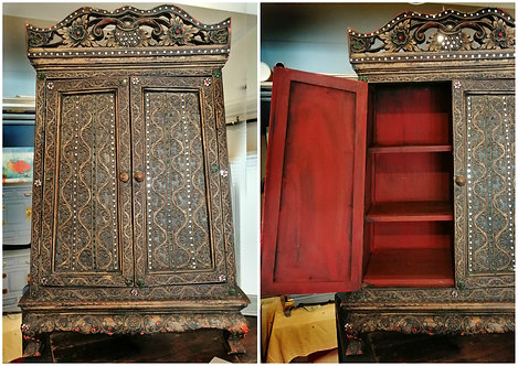 Decorative Indian (Packpack) Cabinet