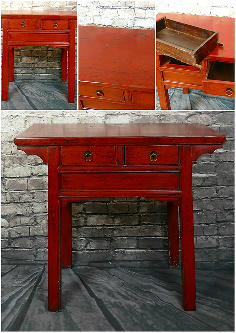 Chinese Altar end Console Table