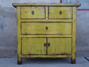 Hand painted Chinese Cupboard