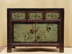 Bejing style hand painted cupboard